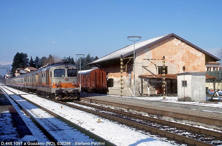Gozzano, railways station