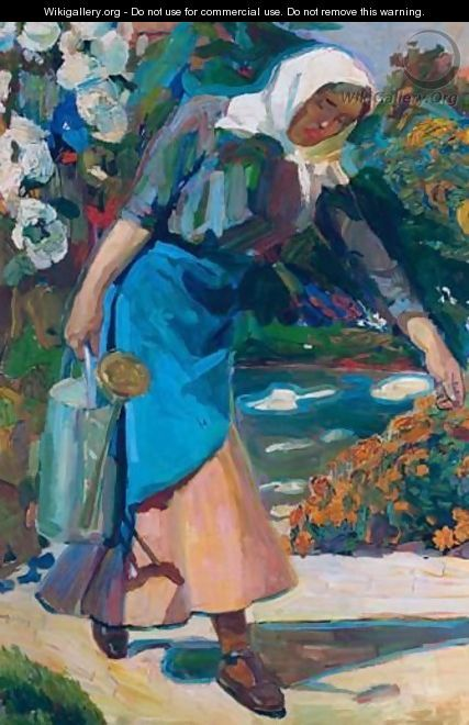 In The Garden - Nikolaos Lytras