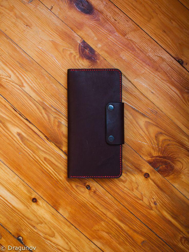 Leather wallet #wallet #diy #бумажник #кошелек #портмоне #мужское #leather #notebook #handmade #dragunov #кожа #блокнот #ручная #работа