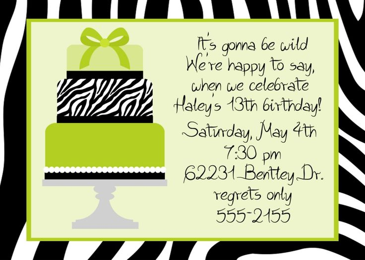 17 Best images about party invites – Teenage Girl Birthday Invitations Free Printable