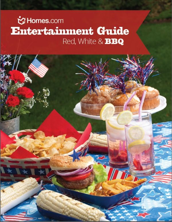 Download this FREE Red, White & BBQ Entertainment Guide w/recipes, party ideas & grilling tips for summer! #redwhiteandbbq