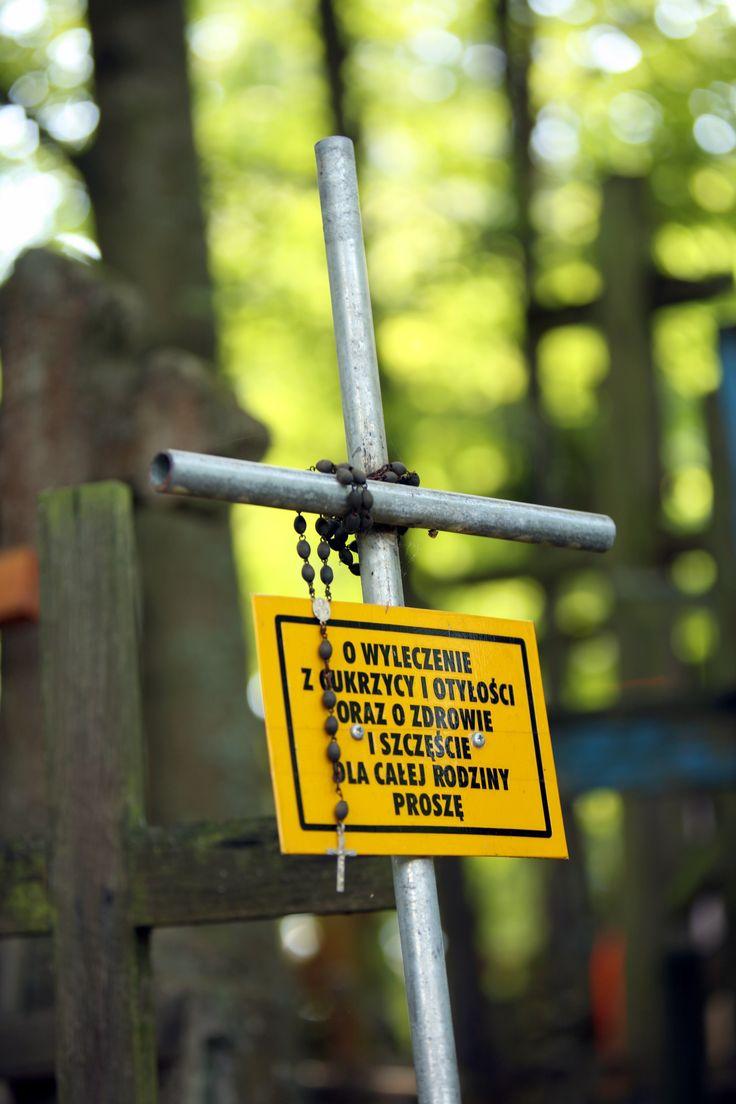 Krzyże na Świętej Górze   Crosses on Holy Mountain Grabarka, PL #holymountain #grabarka #crosses #east #easternorthodoxy #holyplace #polska #poland #travel #seeuinpoland