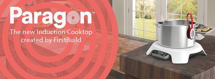 Paragon – La plaque de cuisson induction connectée  http://www.leblogdomotique.fr/maison/paragon-plaque-cuisson-induction-connectee-1461 #Paragon #IoT #smarthome
