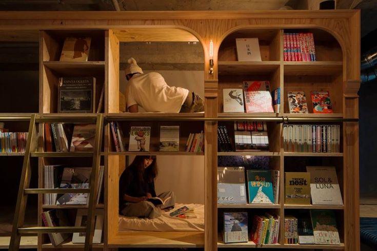 Book and Bed, un hostal para los amantes de los libros - http://revista.pricetravel.com.mx/viajes/2017/01/23/amantes-de-los-libros/