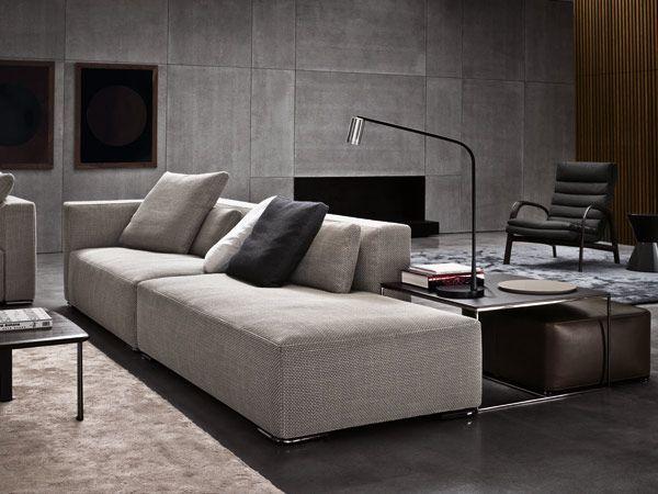 Die 60 besten Bilder zu Minotti auf Pinterest - moderne wohnzimmer couch