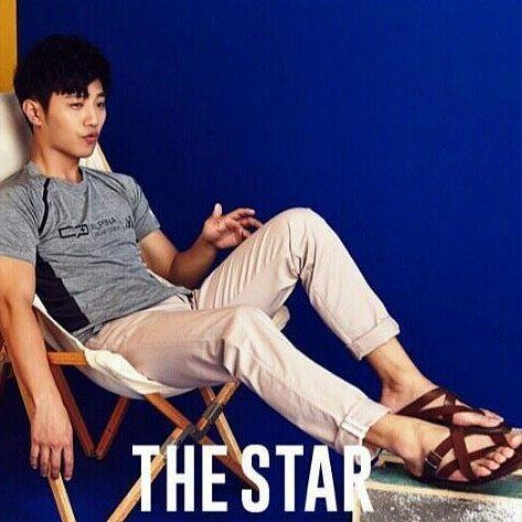 Jin Goo x The Star