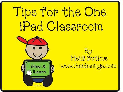 Do you have an iPad in your classroom?  Are you wondering how you can make use of it when there is only one device for all of your students ...