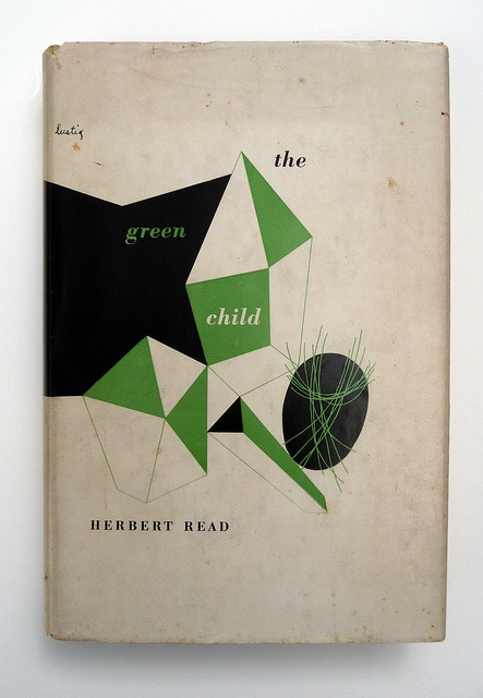/ Designer: Alvin Lustig / Title: The Green Child / Author: Herbert Read / Publisher: New Directions