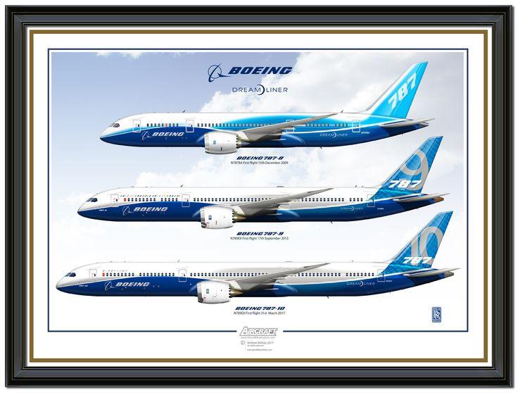 Boeing 787-8 Boeing 787-9 Boeing 787-10