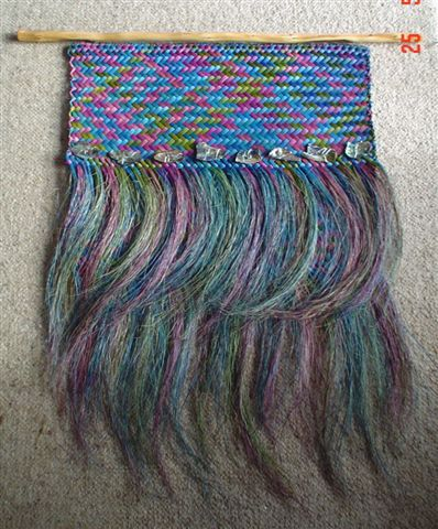 Wall weave art ...: Wall Hanging