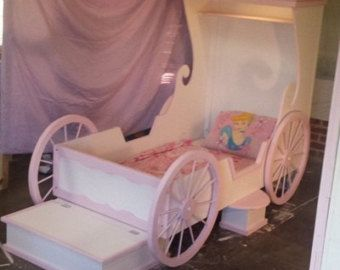 Cottage Loft Playhouse Bed by HolidayCustomKidBeds on Etsy
