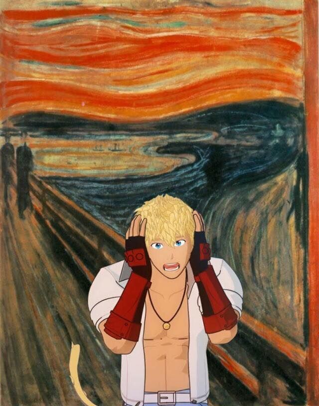 RWBY The Scream Lol sun
