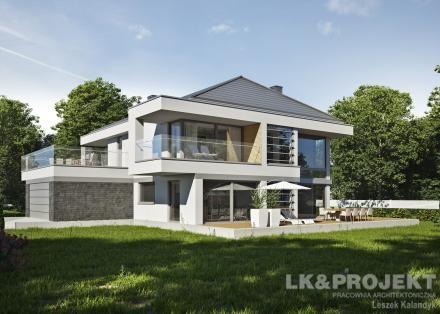 Projekty domów LK Projekt LK&1306 --> http://lk-projekt.pl/lkand1306-produkt-9634.html