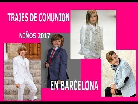 TRAJES COMUNION NIÑO 2018 BARCELONA  pedir hora tf 936853227
