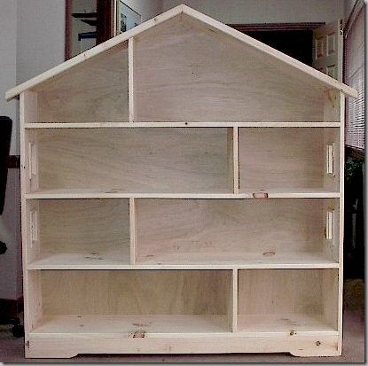 To many little girls in my life - got to build a dollshouse for them