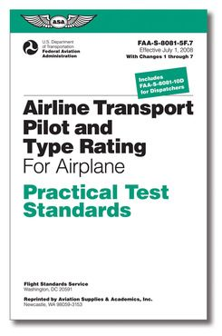 Airline Transport Pilot and Type Rating For Airplane - Practical Test Standards (PTS)