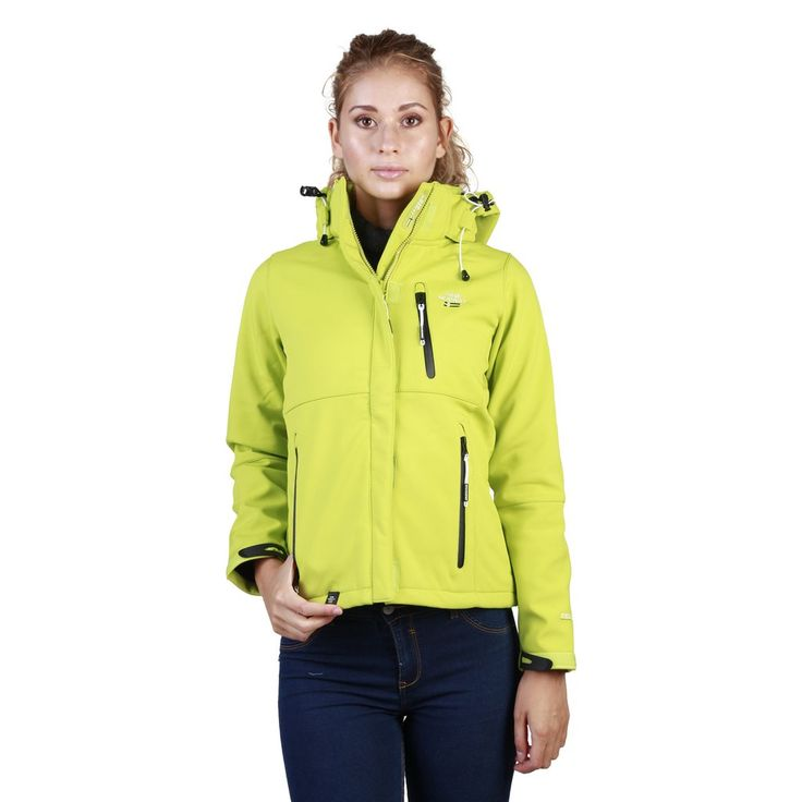 Geographical Norway chartreuse Women Jackets