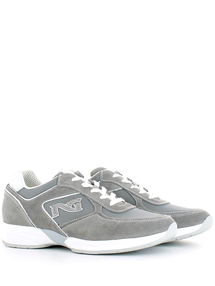 Sneakers in tela bianca MUSIC MY LIFE