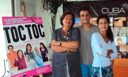 HenArte: TOC TOC Mil razones para ir al teatro ¡Enhorabuena!