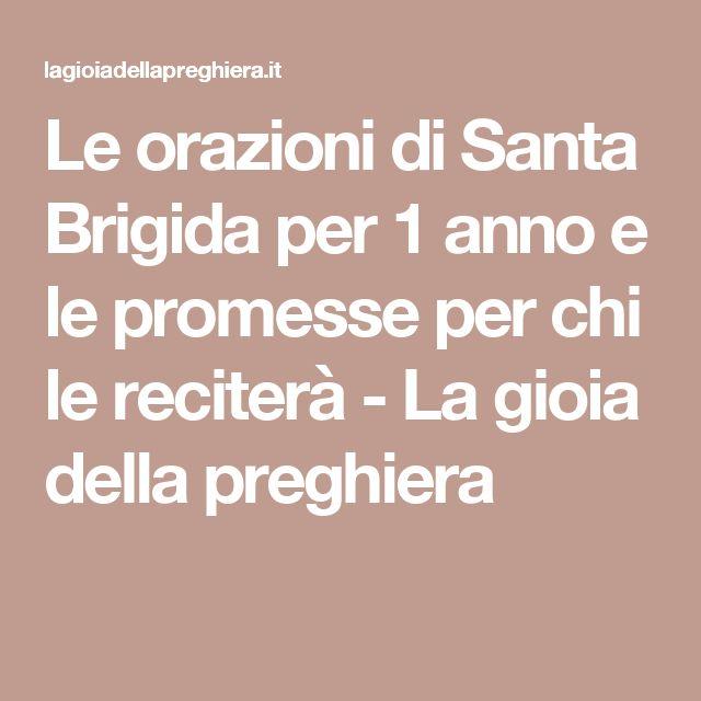 Le orazioni di Santa Brigida per 1 anno e le promesse per chi le reciterà - La gioia della preghiera