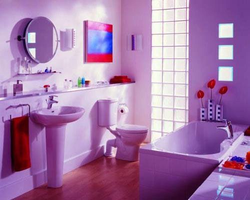 Bathroom French Country Bathroom Vanities Purple Bathroom Sets Spongebob Bathroom Decor 500x399 Primitive Country Purple Bathroom Sets Ideas