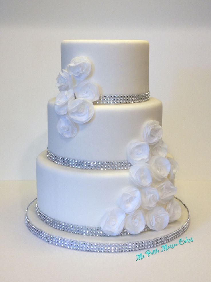 Elegant Wedding Cake  Tier