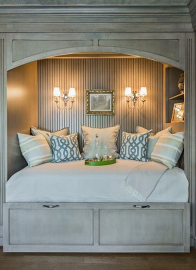 Trundle Bed By Family Kitchens In Boston Magazines Design Home 2013 NookCozy NookCloset
