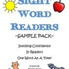 Free Download-Sight Word Readers Sample Pack-Pinned by SOS Inc. Resources http://pinterest.com/sostherapy.