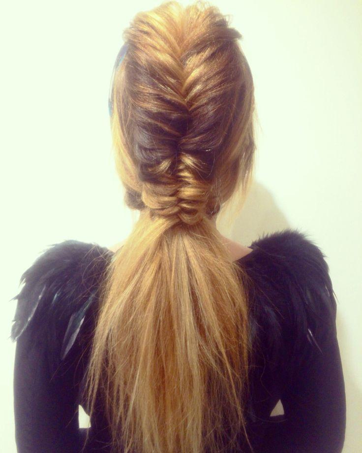 mohawk ponytail ideas