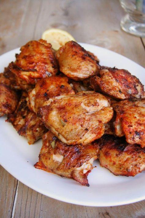 Portuguese Grilled Chicken Frango Grelhado Food Truck Recipes In