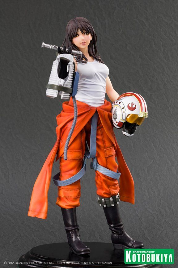 "Figura - STAR WARS ""Jaina Solo"" Bishoujo - Kotobukiya"