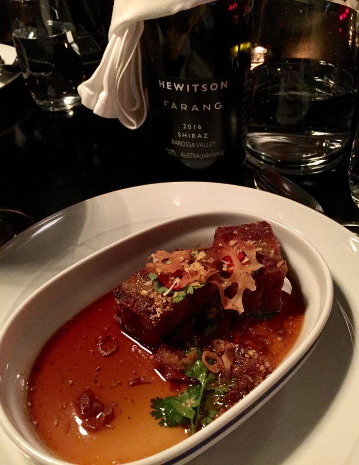 Restaurant Farang - Crispy pork & Farang 2016 from Hewitson