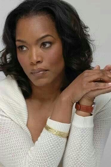 "Angela Bassett: very striking and beautiful actress. Really enjoyed her this year in ""Olympus has Fallen""."