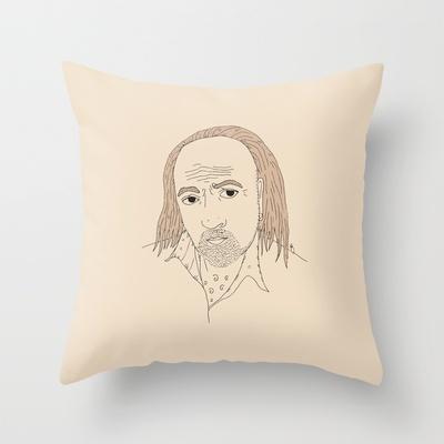 Manny Throw Pillow