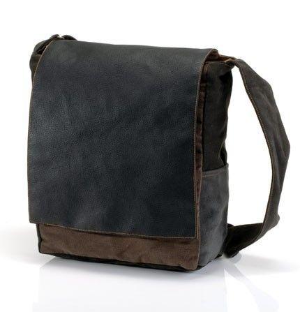 ON SALE Black ipad messenger bag messenger bags by Badimyon