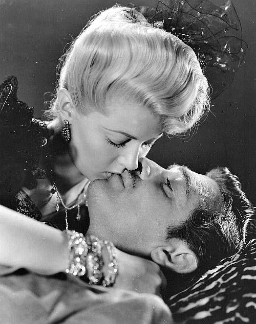 "Clark Gable and Lana Turner in ""Honky Tonk"" (1941)"