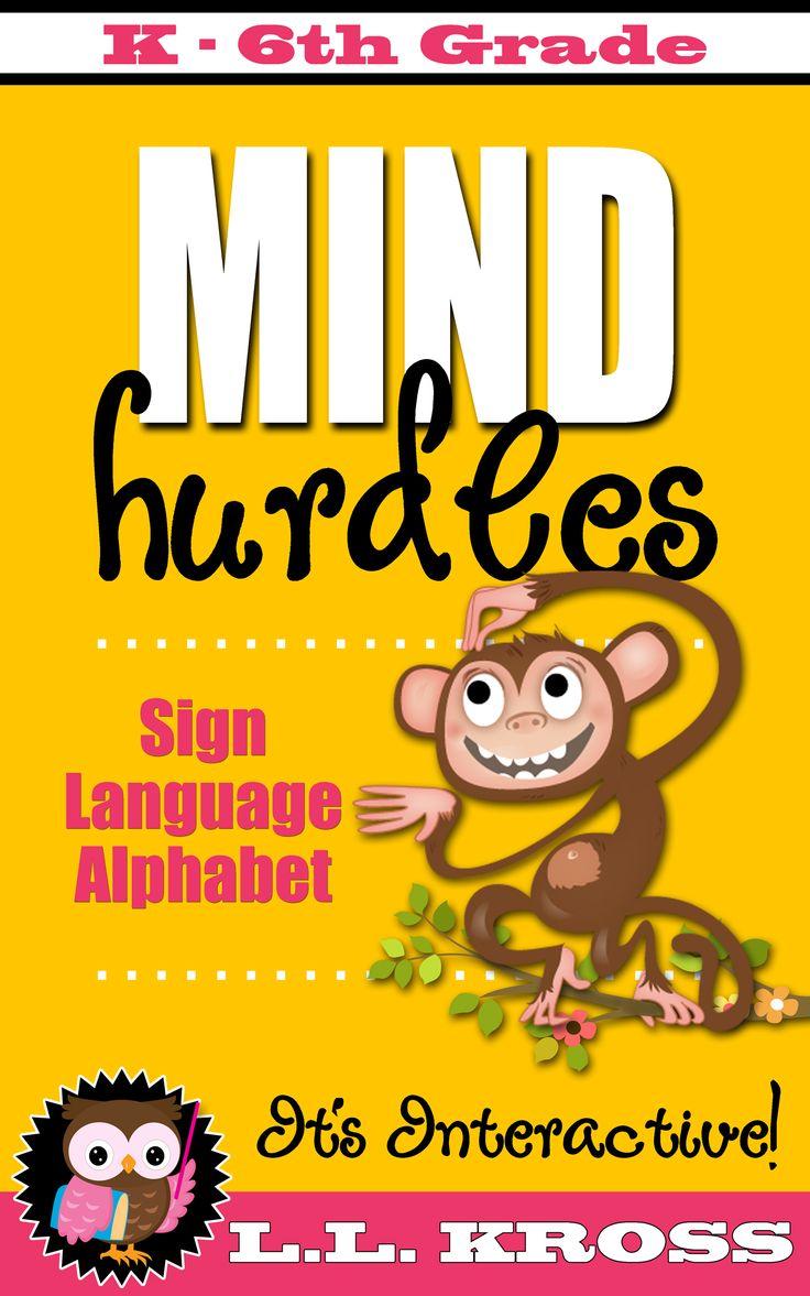 Mind Hurdles Interactive Sign Language Alphabet eBook