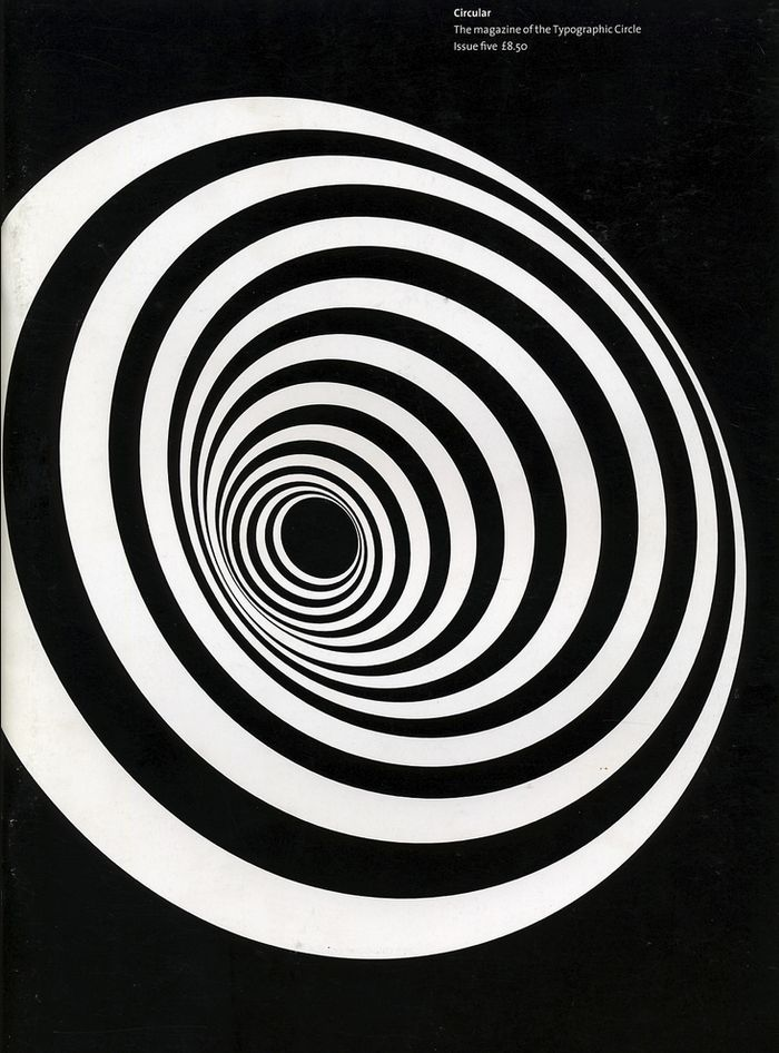 cover of Circular, magazine of the Typographic Circle  - designer unknown