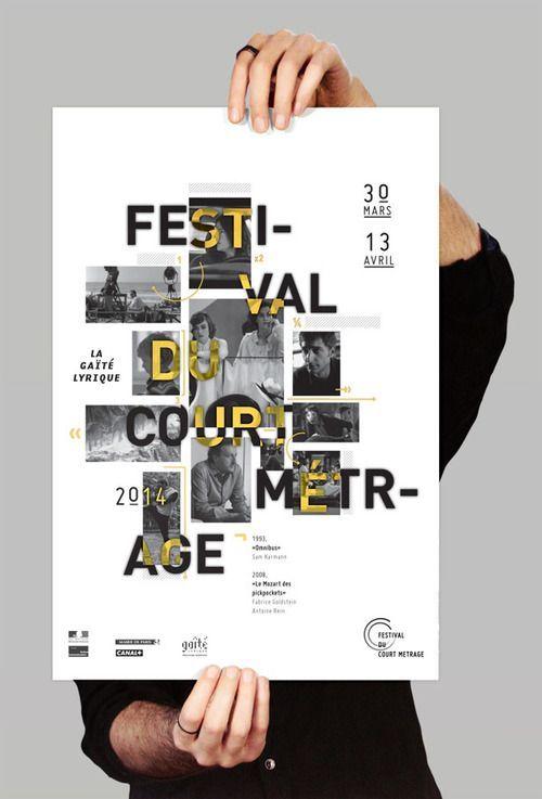 visualgraphc: Affiche festival du court métrage - Magda Achkar: