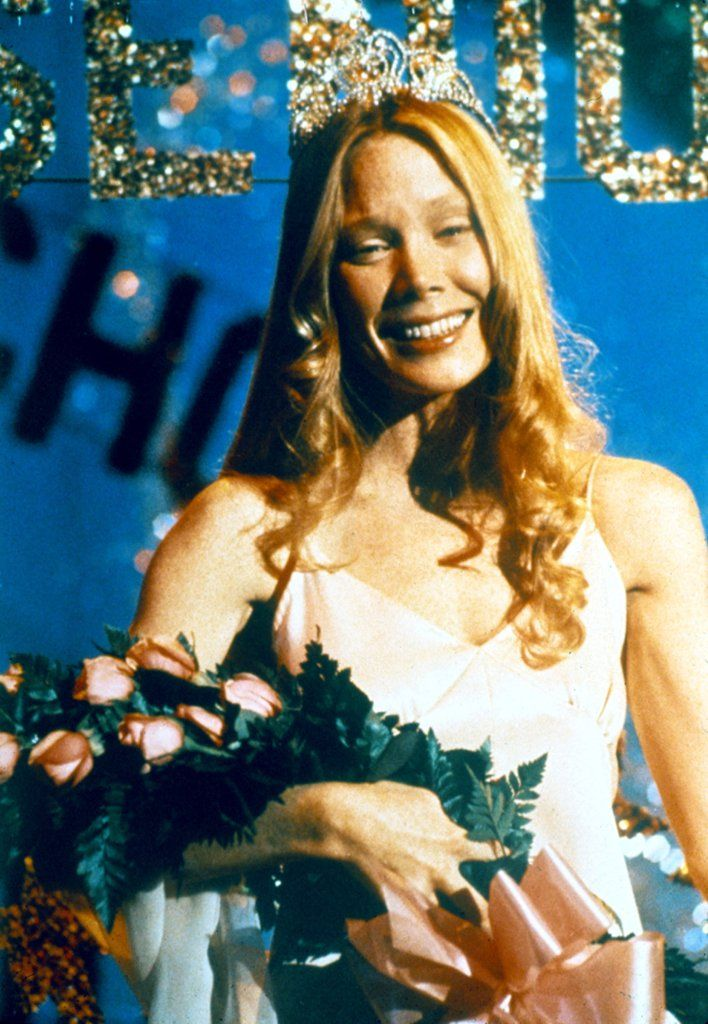 Carrie White From Carrie is a great (and scary) Halloween costume.