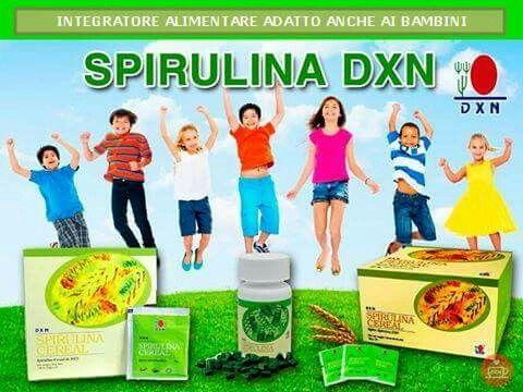 Qui trovi la Spirulina DXN http://www.orazio73.dxnitaly.com, integratore alimentare adatto anche ai bambini!