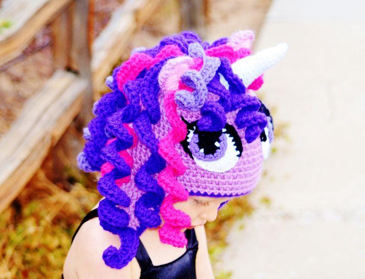 Sombrero de chispa crepúsculo Crochet sombrero por CuteLittleAgels