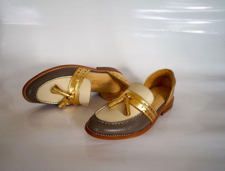 Hand Made Calf Leather Footwear. WW-31