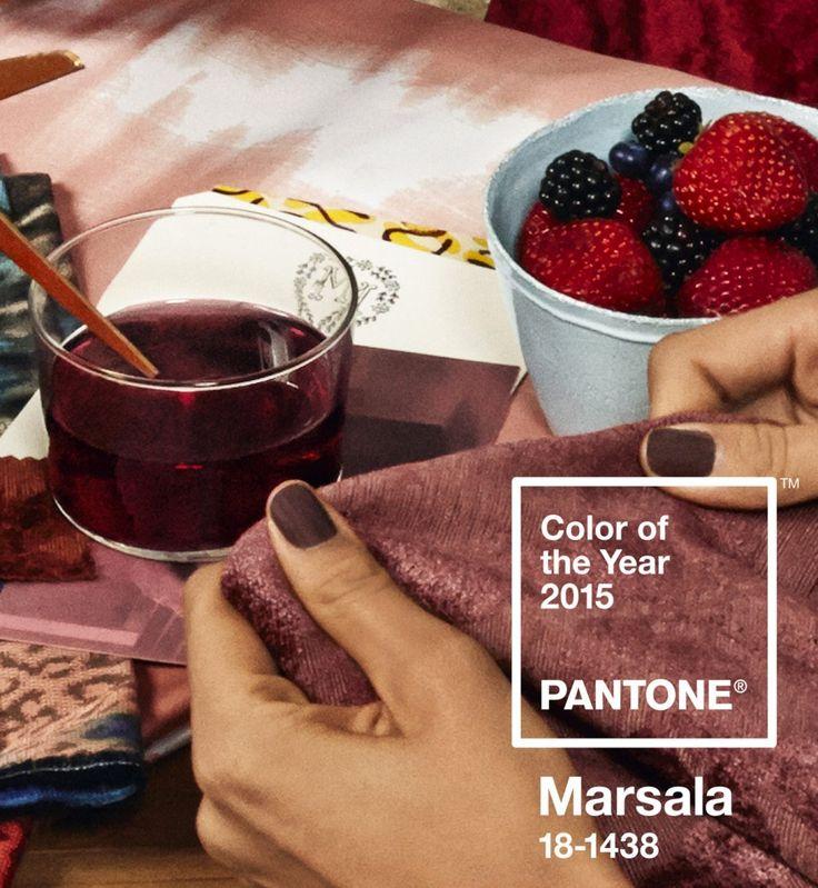 Et la couleur Pantone de l'année 2015 est...