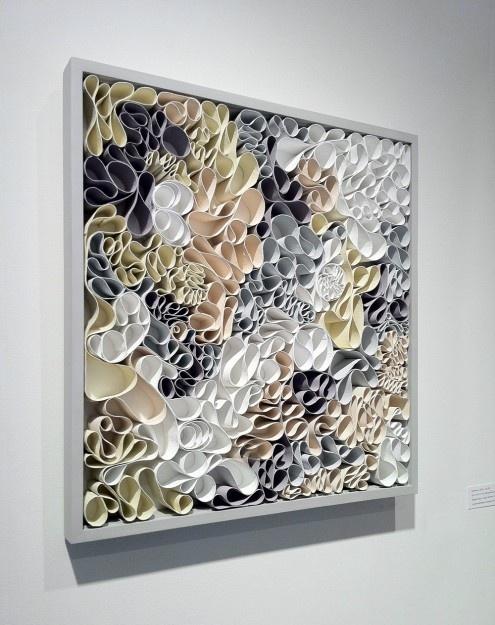 Mitochondria 2012, Canvas sculpture, acrylic paint by Artists: Jason Hallman & Stephen Stum