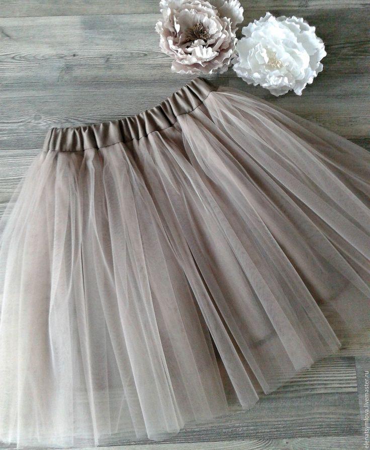 Сшить платье из юбки для девочек 21