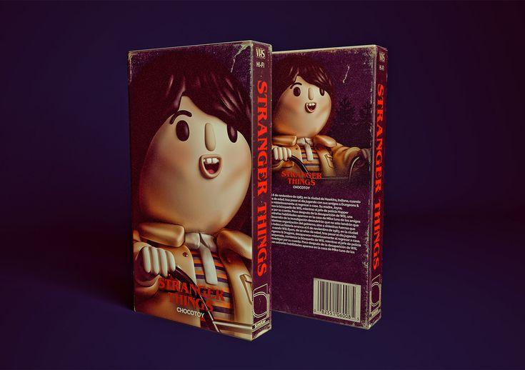 Stranger Toys: Digital Illlustrations by Luis Albornoz – Inspiration Grid | Design Inspiration #strangerthings #illustration #digitalillustration #digitalart #popculture #eleven #tv #tvshow #netflix #inspirationgrid