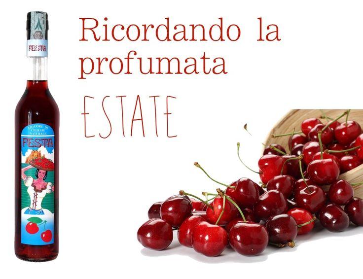 """#Liquore alle #ciliege """"Festa"""": prodotto che racchiude in se la tipicità del paese di Lari in provincia di Pisa, dove la ciliegia rappresenta il primario prodotto agricolo. http://bit.ly/1CIhkxy #food #frutta #drink #tradizione #gusto #sapore"""