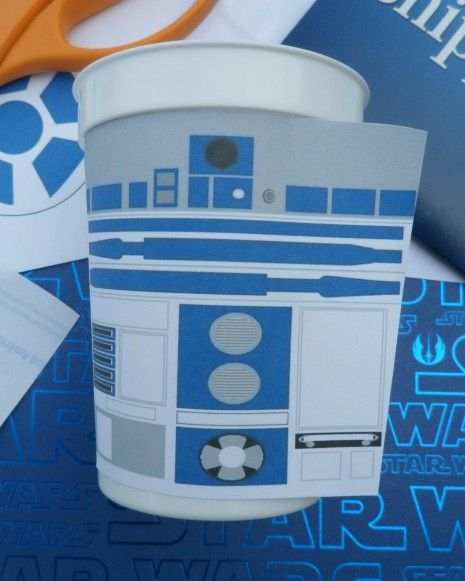 DIY Tutorial - How to Make R2D2 Cups For Your Star Wars Party | Catch My Party