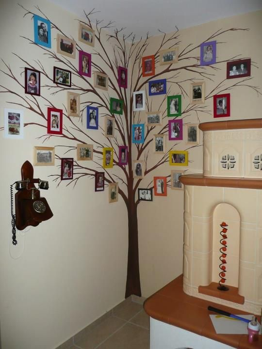 family tree wall!